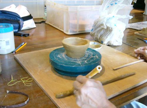 しん窯陶芸教室画像